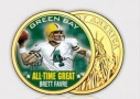 Brett Favre Coin - As Seen On TV