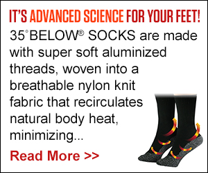 69bebff5cc1e2 Keep comfy as well as warm with the cutting edge 35 Below Socks. As Seen On  TV ...
