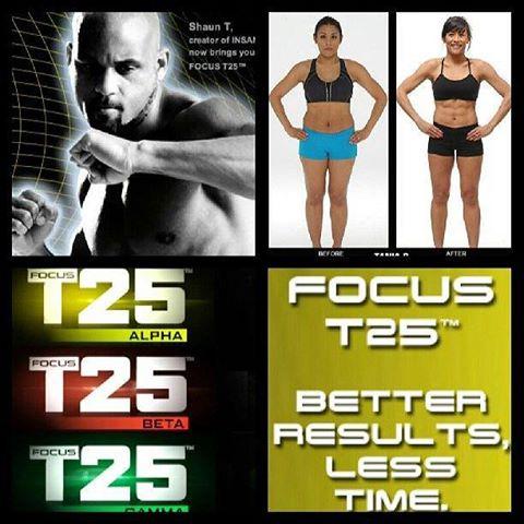 Focus T25 New Shaun T 25 Minute Workout | Beachbody