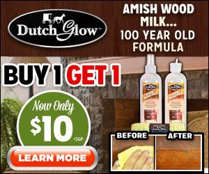 Dutch Glow Amish Milk Wood Restorer