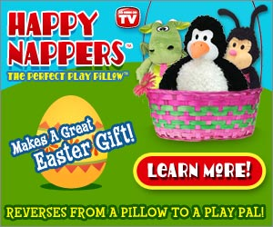 Happy Nappers for Easter
