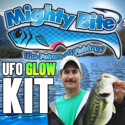 Mighty bite life like fishing lure system for Fishing lure as seen on tv