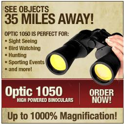 Optic 1050 Binoculars