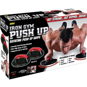 The Ultimate Upper Body Workout Push Up Pro Rotating Push Up Grips Brand New