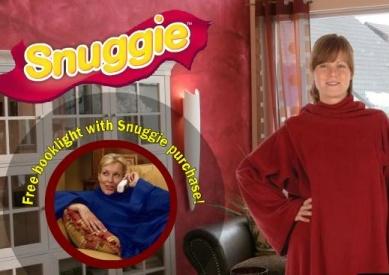 snuggie blanket with sleeves as seen on tv