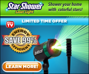 Shower Your Home with Colorful Lights