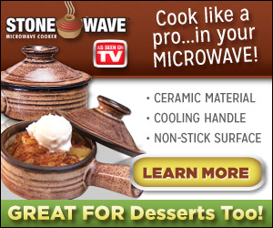 Cook Food Fast When Using The Stone Wave Cookware For Microwave Gourmet Evenly