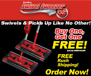 Swivel Sweeper New G2 Cordless As Seen On Tv